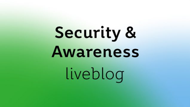Security & Awareness 2017 event